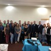 Symposium in San Miguel. Speakers with some audience from the Pediatric Society